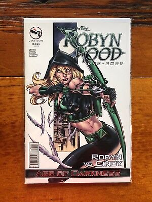 Grimm Fairy Tales Presents Robyn Hood, Robyn Vs Cindy One-Shot, Cover A