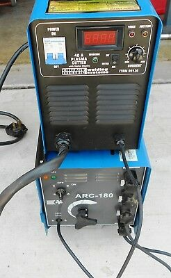 Chicago Electric 40 Amp Plasma Cutter & Chicago Electric Industrial Arc Welder