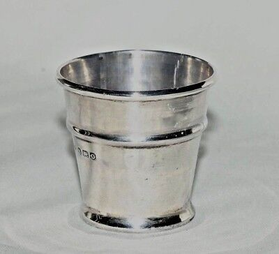 Unusual Sterling Silver Medicine Cup Birmingham 1938 William Aitken