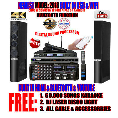 Singtronic Complete Professional 3000W HD Karaoke System with FREE: 60,000 Song