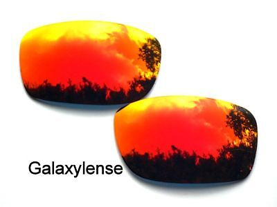 Galaxy Replacement Lenses for Oakley Fives Squared Fire Red Color Polarized