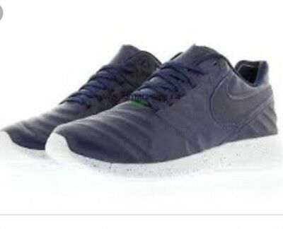 the latest 22a8e a704f Nike Mens Roshe Tiempo VI Casual Shoe Navy Gray Grey Size 13 852615 400