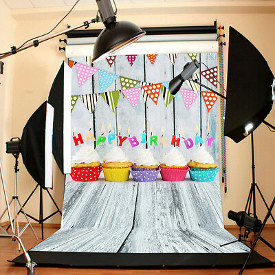 Birthday Party Cake Photography Backdrop Camera Studio Lighting Background Cloth