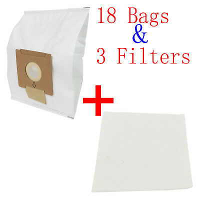 18X Synthetic Dust Bags Fits Wertheim W2000 Cat & Dog Vacuum Cleaner GERMOSTADT