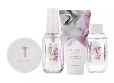 Ted Baker Bathing Blooms Pretty Pearl Miniatures Body Gift Set RRP£24