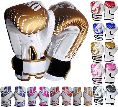 Junior Mitts Perfect Kids Boxing Gloves Punching Bag Children Gel Pad 2oz & 6oz
