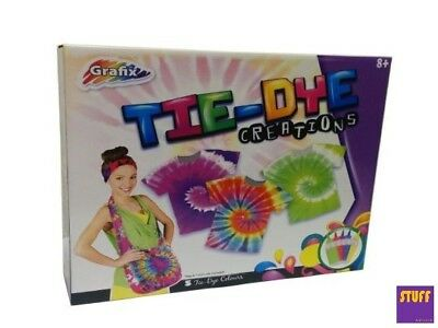 Tie-Dye Kit Create Your Own style Design Children Craft Activity Experiment Gift