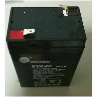 General Rechargeable Battery For Torrey Crs 1000/2000 Crane Scale, New