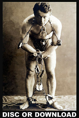 Make & Sell Repro Prints - RESTORED HOUDINI PRINTS/PHOTOS - Images by Timecamera