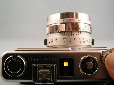**RESTORATION SERVICE**  for  YOUR  Yashica ELECTRO 35 GX GS GT GSN GTN  REPAIR