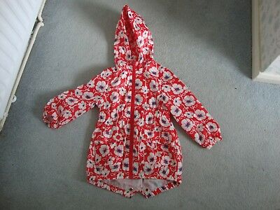 Girls Next Light Hooded Raincoat Spring - Summer 3-4 Years Height 104Cm