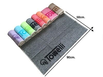 Bi-Color, TOWELLI Sports Gym Towel, 100%Cotton Jacquard, with New Colours