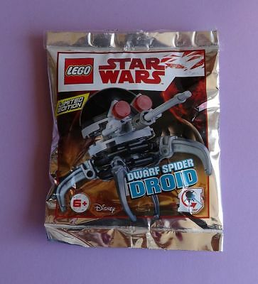 Lego Star Wars Separatist Spider Droid 7681 Used Limited Edition