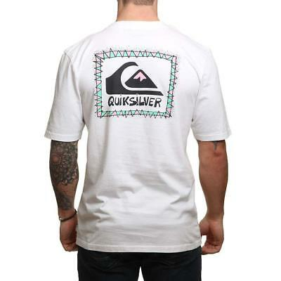 Quiksilver Ghetto Session Tee White Quiksilver Men's Clothing T-Shirts