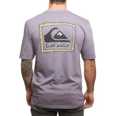 Quiksilver Ghetto Session Tee Cadet Quiksilver Men's Clothing T-Shirts