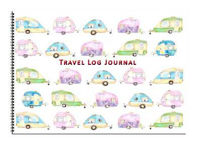 Caravan or Motorhome Owners, Travel Record Log & Journal - Caravans Design 8