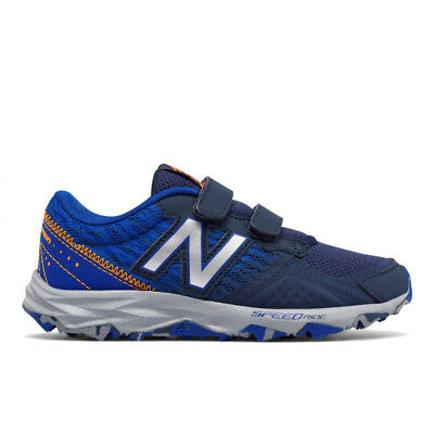 KE690BIY Boys New Balance Hook and Loop Trail Running Shoe KE690 690