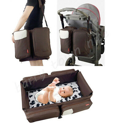 3 In 1 Portable Infant Baby Bassinet Diaper Bag Changing Station Ny Travel