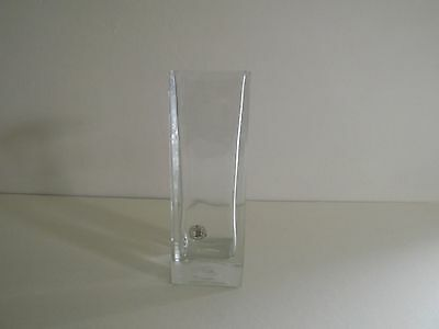 Hand Made Square Glass Vase (70,252)