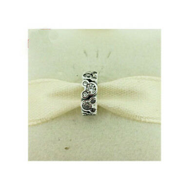 eefd50ce7 GENUINE PANDORA DISNEY Mickey Mouse Silver Spacer 791456CZ FREE DELIVERY