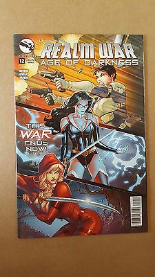 Grimm Fairy Tales Presents: Realm War Age Of Darkness #12 A