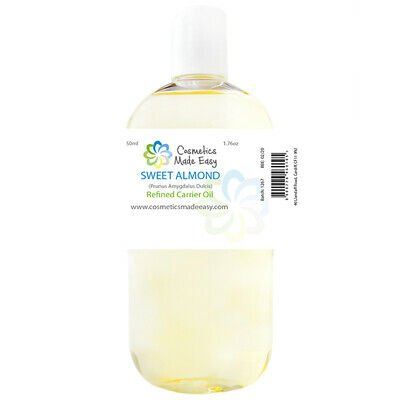 1 Litre Sweet Almond Carrier Oil - 100% Pure Base Massage Oil