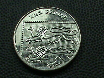 GREAT BRITAIN  10 Pence   2008   # 2   ,  $ 2.99  maximum  shipping  in  USA