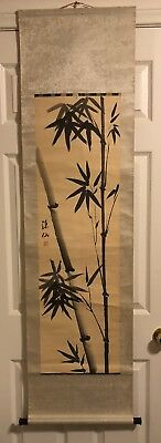 Preowned   Old Chinese Hand painted  Ink painting Signed &  stamped