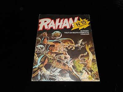 Rahan 15 Editions Vaillant septembre 1975
