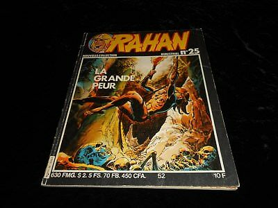 Rahan 52 nouvelle collection 25 Editions Vaillant janvier 1982