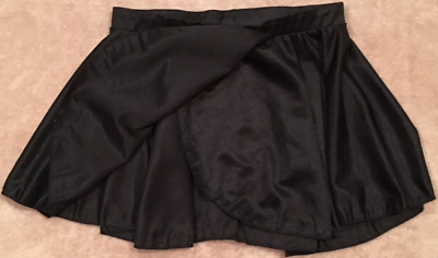 Childs Black Dance/Ice Skating Skirt