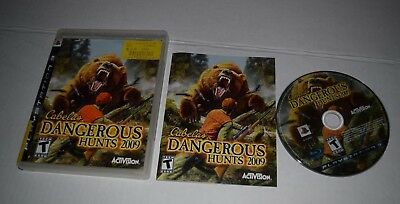 Cabela's Dangerous Hunts 2009 complete ps3 game(Sony PlayStation 3) CIB