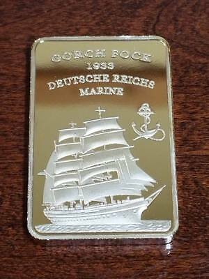 WW2 WWII German Germany Deutsche Reichsbank Bar Gorch Fock 1939 Marine