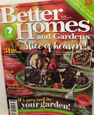 BETTER HOMES AND GARDENS BHG MAGAZINE May 2018 issue - New