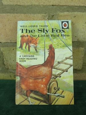 Vintage Ladybird book well loved tales 606D The Sly Fox  price 40p in excellent