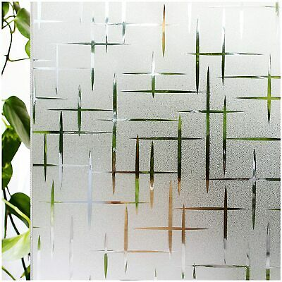 Rabbitgoo window film dark frosted static cling privacy protection