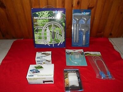 Lot De Materiels De Nettoyage Aquariums Neuf + 2 Aimants Tunze Occasion