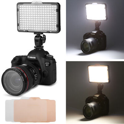 Craphy 176 LED Video Light +2 Filters for Camera DV Camcorder Canon Nikon Pentax