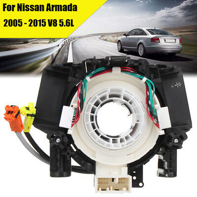 Clock Spring Spiral Air Bag Cable Replace For Nissan Armada 2005 - 2015 V8 5.6L