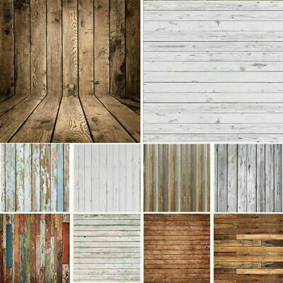 Wooden Theme Studio Photo Photography Backdrop Party Stage Floor Background