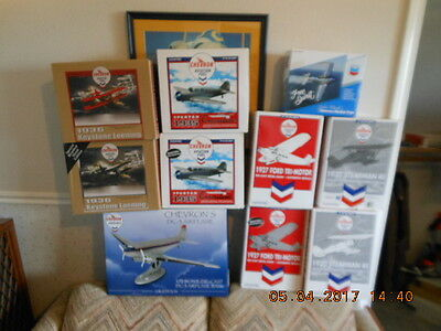 Complete Sets Of The Chevron Plane Series 2004-2009 – All Nib