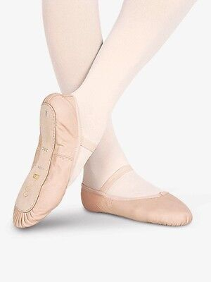 S0205G Bloch leather Ballet Slipper. Pink New w/box. ABCD sizes 7 - 2.5