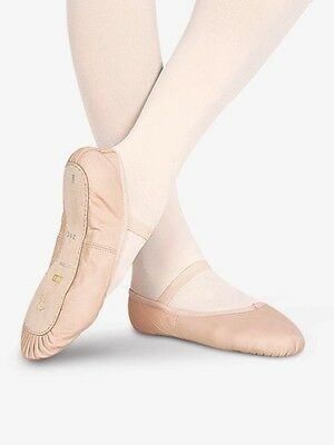 S0205L Bloch leather Ballet Slipper. Pink New w/box. ABCD sizes 7 kids-adult 8