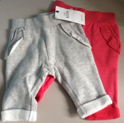 BNWT Baby Girl's M&S 3-6 MONTHS, Leggings, Joggers , Trousers , 2 PART SET