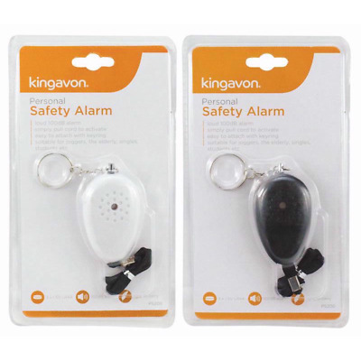 Very Loud Personal Safety Alarm Keychian Pull Pin Action Rape Attack Attention