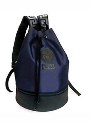 VERSACE MEN S BACKPACK RUCKSACK Gym Weekend Travel Bag -  94.00 ... 825ca35d5fc87