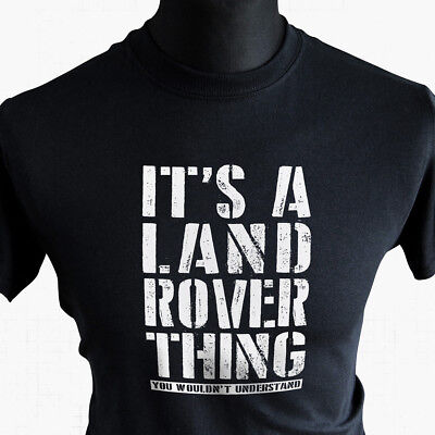 Mens T-Shirt TEE Land Rover Off Road Roading Defender 4X4 Funny S S-XXXL