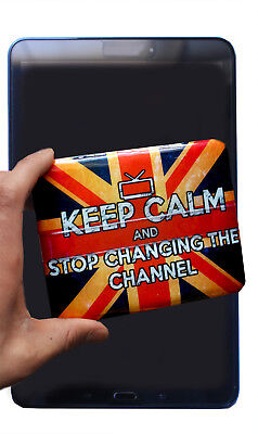 3x Keep Calm Plasma LCD TV Tablet Duster Pad Cleaner Alternative to Screen Wipes