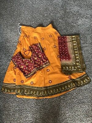 Indian Chaniya Choli Multicolor