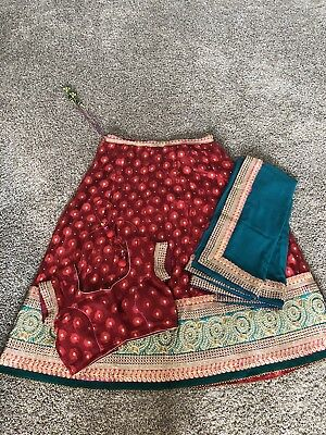 Indian Chaniya Choli Red